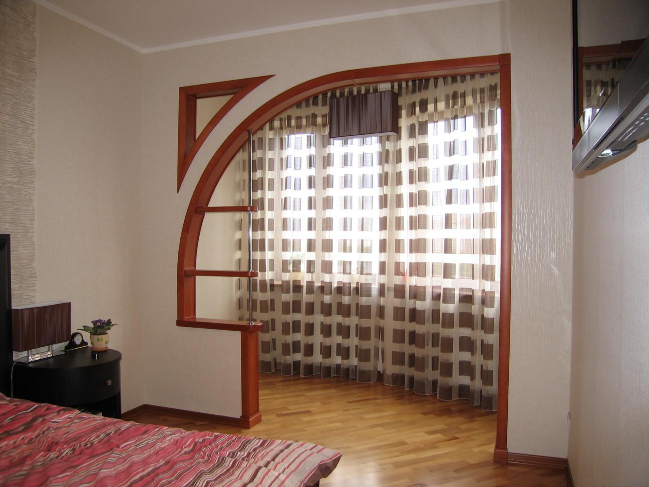 Дизайн арок на кухню